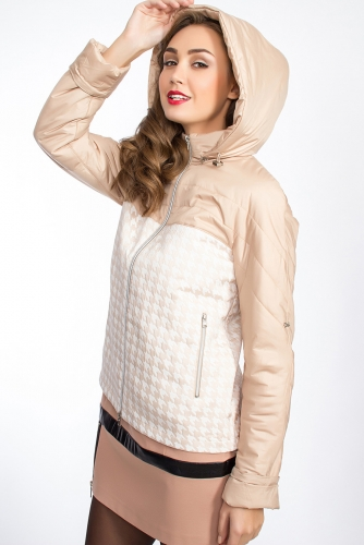 Куртка #24827Песочный