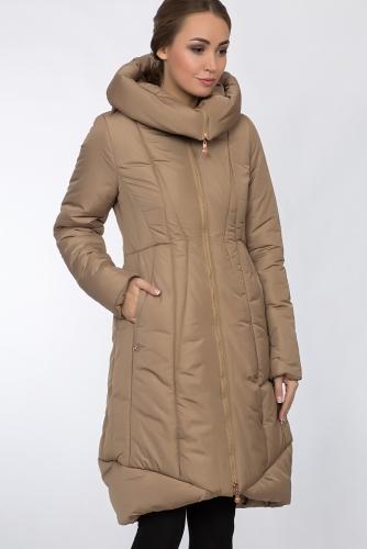 Пальто #54156Песочный