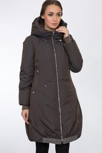 Пальто #54159Коричневый