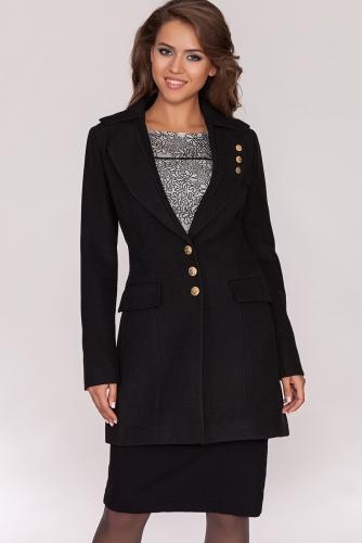 Пальто #19647Black