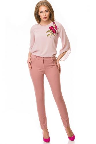 Брюки #79188Темный фламинго