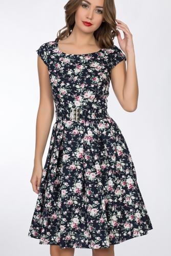Платье #52407Черный