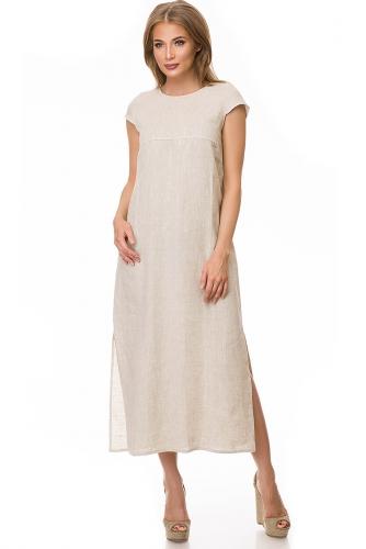 Платье #78764Бежевый