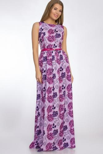 Платье #50810Лиловый
