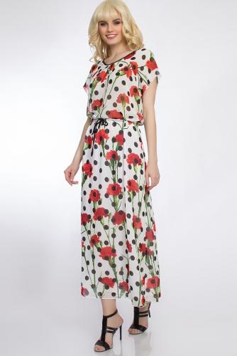 Платье #30472Белый