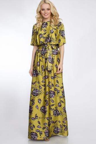 Платье #30379Оливковый