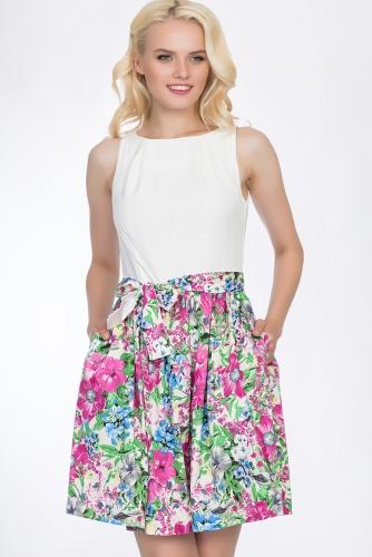 Платье #51644Розовый