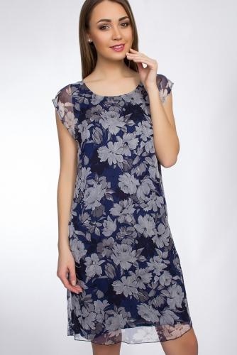 Платье #29645Синий