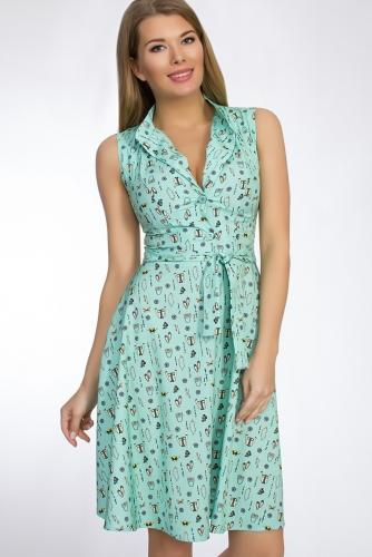 Платье #50792Мульти