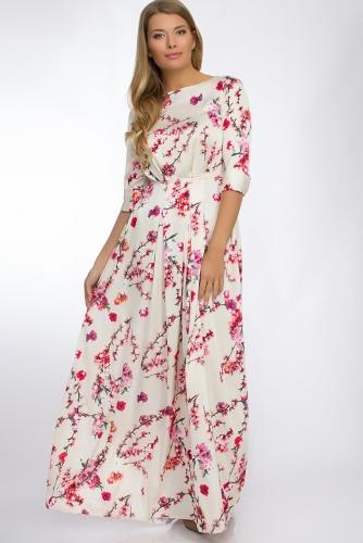 Платье #30271Желтый