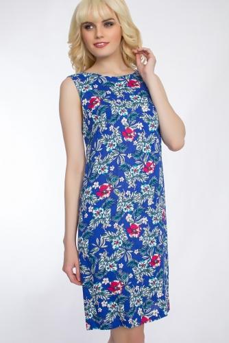 Платье #30425Синий