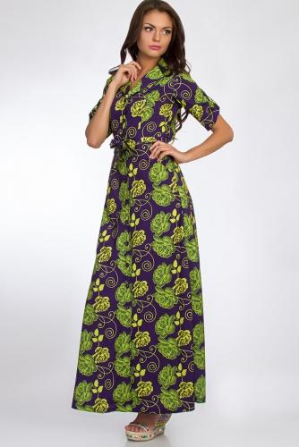 Платье #50682Фиолетовый