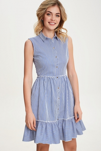 Платье #79064Синий