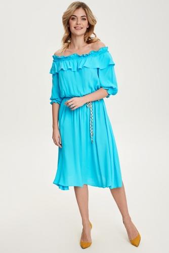 Платье #81810Синий