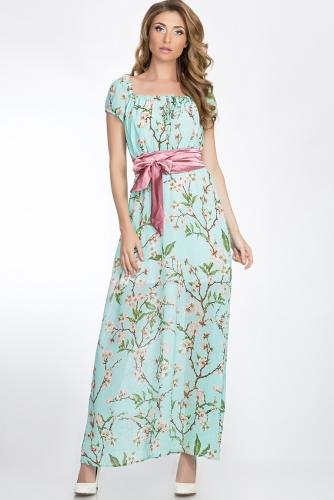 Платье #51691Мятный