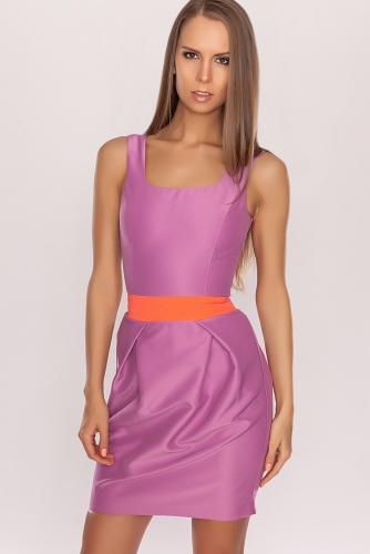 Платье #22664Лиловый