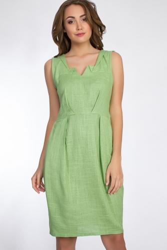 Платье #50316Салатовый