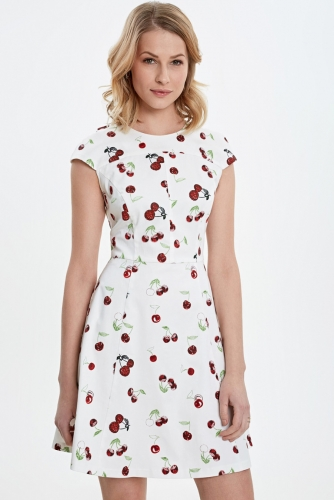 Платье #79054Белый