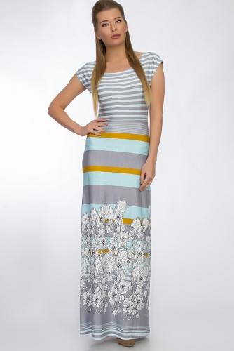 Платье #33195Цветы