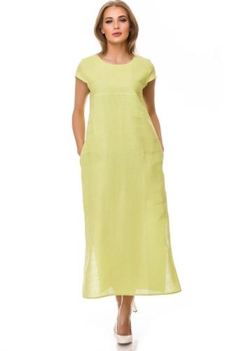 Платье #76761Лайм