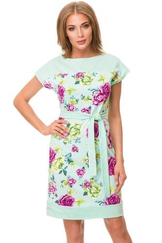 Платье #82008Ментол