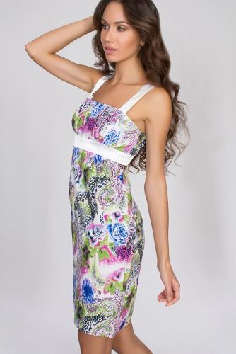 Платье #23597Лиловый