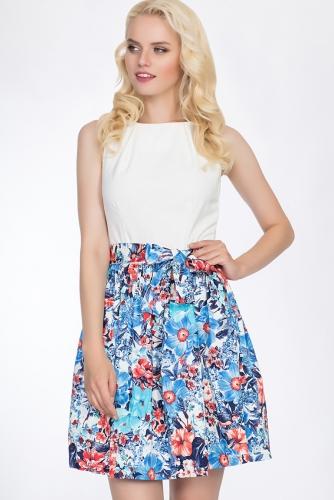 Платье #51655Голубой