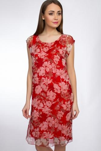 Платье #29644Красный