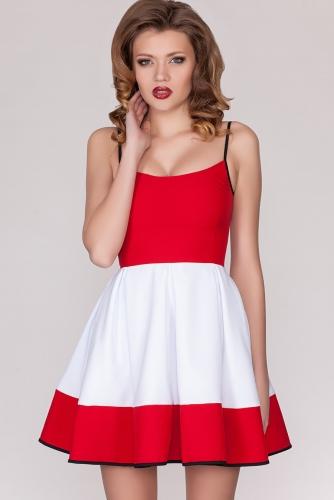 Платье #21222Красный