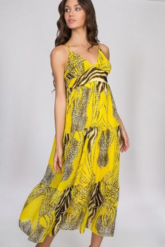 Платье #23586Yellow