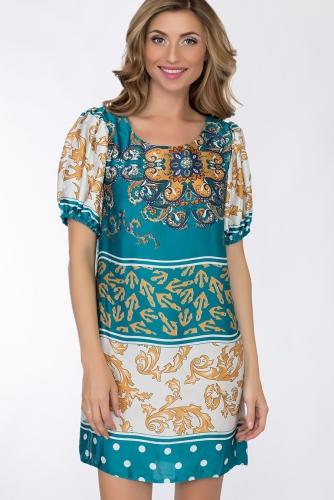 Платье #52683Бирюза