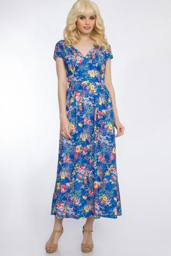Платье #30432Синий