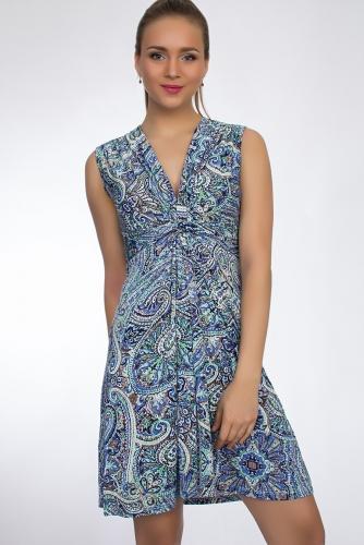 Платье #50046Зеленый