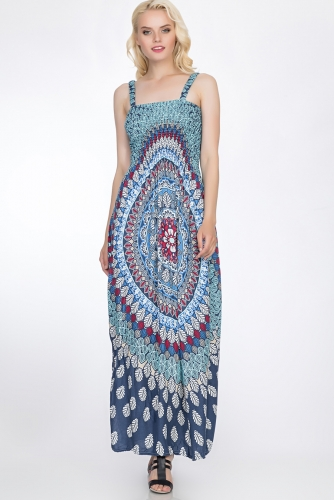 Платье #51664Синий