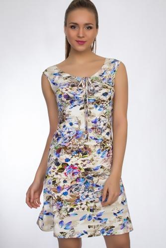 Платье #33280Цветы