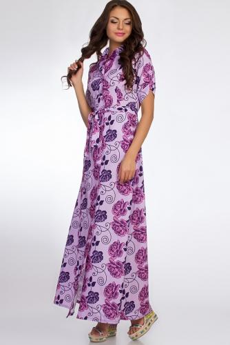 Платье #50684Лиловый