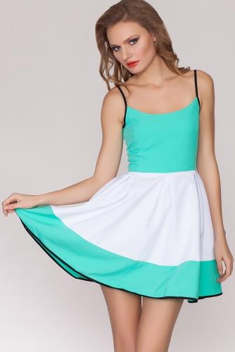 Платье #21076Мятный