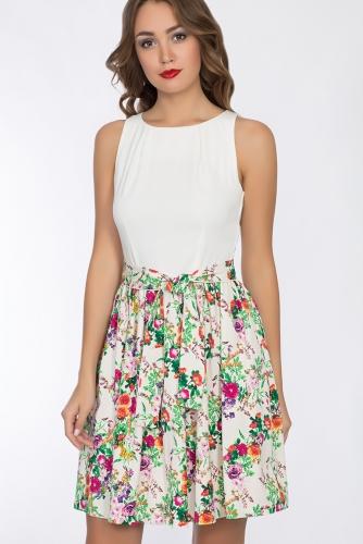 Платье #52377Зеленый