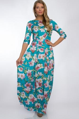 Платье #30260Бирюза