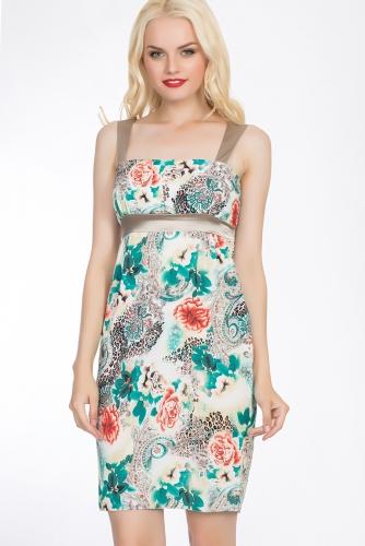 Платье #52239Зеленый