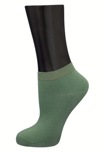 #24615 Женские носки Зеленый