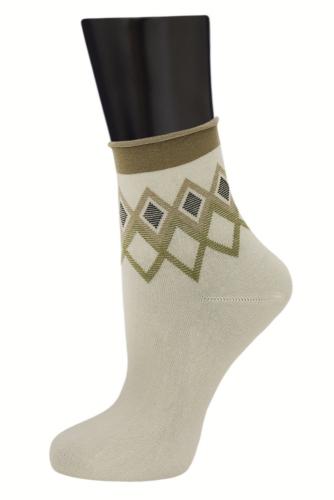 #24806 Женские носки Кремовый