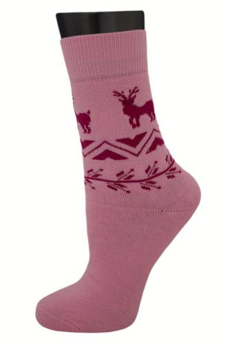 #24906 Женские носки Розовый