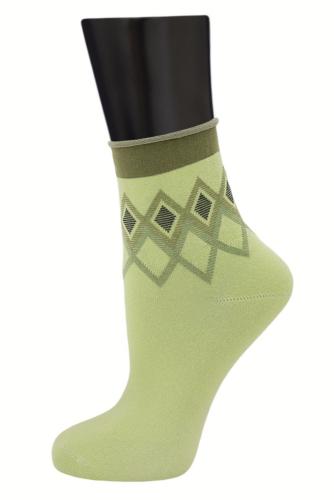 #24802 Женские носки Салатовый