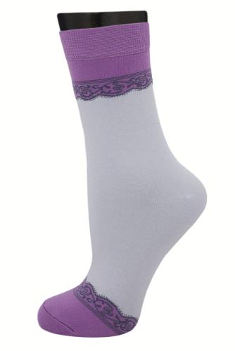 #24682 Женские носки Сиреневый