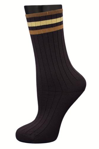 #24826 Женские носки Коричневый