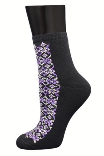 #24996 Женские носки Черный