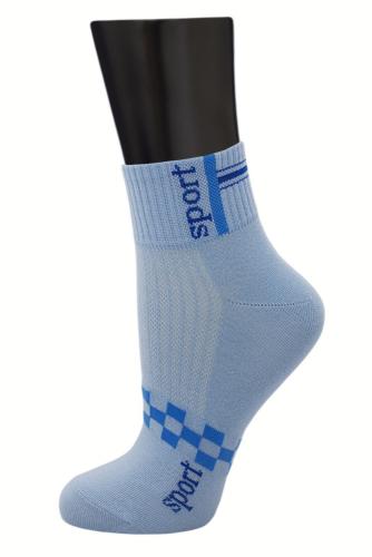 #24736 Женские носки Голубой