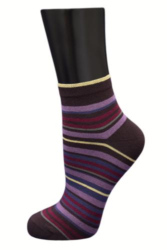 #24810 Женские носки Коричневый