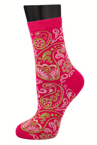 #24840 Женские носки Фуксия